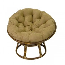Light Brown 52 Inch Papasan Lounge Chair Cushion