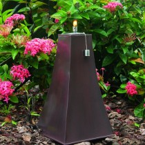 Light Copper Finish Zinc Garden Torch