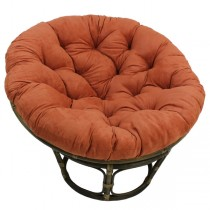 Light Red 52 Inch Papasan Lounge Chair Cushion