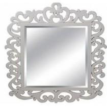 Light White Designer Wall Mirror