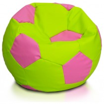 Lime And Pink Large Beanbag Soccer