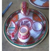 Lota and Chopda Pooja Thali