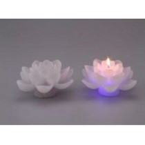 Lotus Shape Color Changing LED Candle