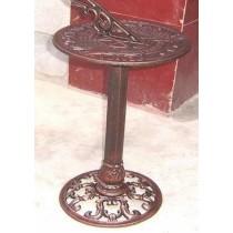 Maroon Color Iron Sundial