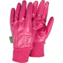 Medium Raspberry Water Resistant Gloves
