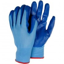 Medium Size Blue Planting Gloves