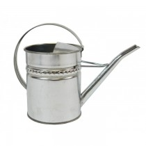 Medium Size Classic Galvanized Steel Watering Can