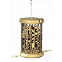 Medium Size Wooden Peanut Bird Feeder
