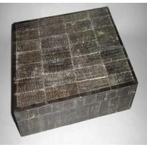 Medium Unique Design Black Finish Jewellery Box