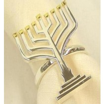 Menorah New Napkin Ring