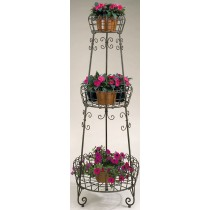 Metal 3-Tier Flower Plant Stand 66 Inch