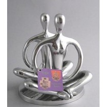 Metal Aluminum Yoga Napkin Holder