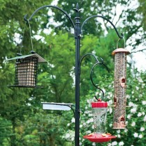 Metal Bird Feeding Station Set