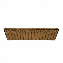 Metal Copper Finish Large Window Box