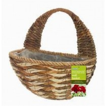 Metal Frame Wall Basket