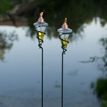 Metal Garden Torch Set of 2 Pcs