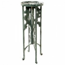 Metal Grape Design Stylish Plant Stand