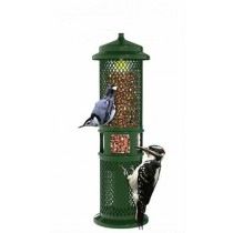Metal Green Color Hanging Bird Feeder