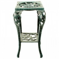 Metal Grey Color Table Plant Stand