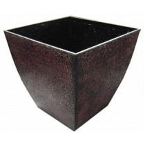 Metal Square 16 Inch Flower Pot