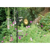Modern Design Metal Bird Feeding Station Set