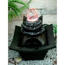 Modern Led Crystal Ball Water Fountain