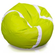 Modern Lime And White Beanbag Soccer