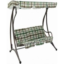 Modern Outdoor Patio Three Seater Swing Chair