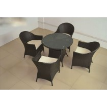 Modern Stylish PE Rattan Dinning Set