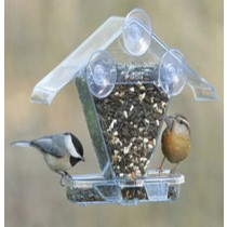 Modern Window Cafe Bird Feeder