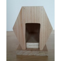 Modern Wooden Bird House