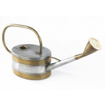 Modern Zinc And Brass Finish Watering Can