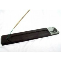 Moon Black Incense Burner