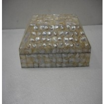 Mother Of Pearl Jewellery Box 20X13X7