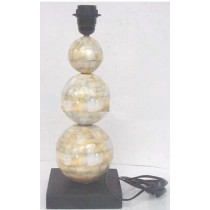 Mother Of Pearl Shiny Finish Table Lamp 39x16.cm