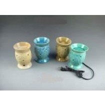Multi Colored Shape Ceramic Electric Wax Warmer Oil Burner(Set Of 4)