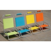 Multicolored Beach Chair