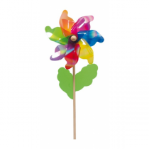 Multicolored Flower Plastic Weathervanes