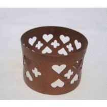 Napkin ring Cut Out Design With Matte Gold Finish