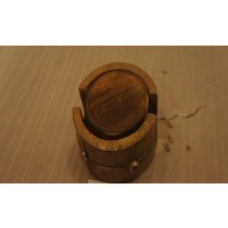 Natural Mango Wooden Coasters(13 x 13 x 8 cm)