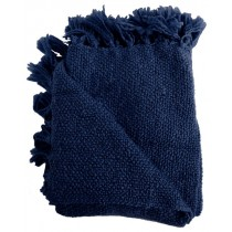 Navy Blue 50 X 70 Inch Throw