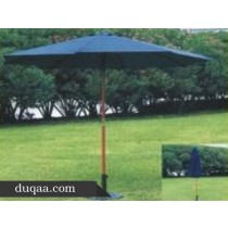 Navy Blue Outdoor  Garden Umbrella (Size 8 ft round)