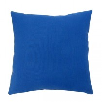 Navy Blue Square Shape Polyester Cushion