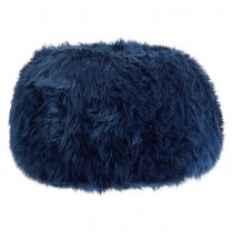 Navy Fur-Rific Large Beanbag