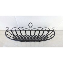 New Medium Black Top Basket
