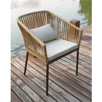 New Modern PE Rattan Arm Chair
