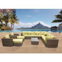 New PE Rattan Modular Outdoor Sofa Set