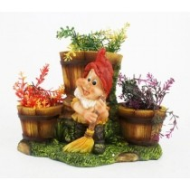New Three Pot Gnome Planter