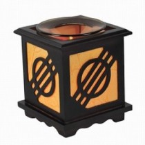 New Wooden Aroma Lamp