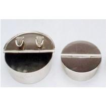 Nickel Finish Ash Tray, 2.5 Inches